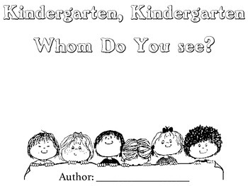 Brown Bear Class Book Templates