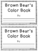 Brown Bear - Color Book Bundle