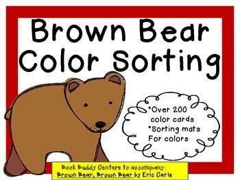 Brown Bear Color Match