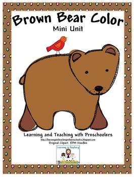 Brown Bear Color Mini Unit