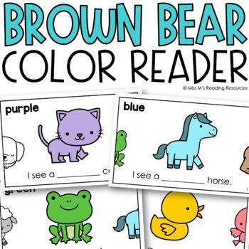 Brown Bear Mini Book