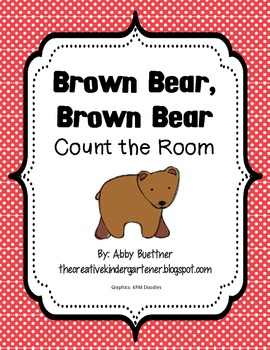 Brown Bear Count the Room