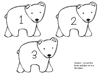 Brown Bear Counting Activities