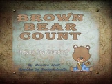 Brown Bear Counting one to one correspondence math