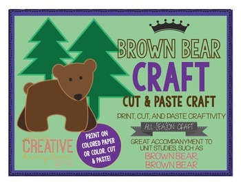 Brown Bear Craft