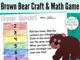 Brown Bear Craft & Math Game