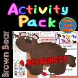 Brown Bear Cut & Paste Mini-book