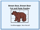 Brown Bear Brown Bear Cut and Paste Puzzles Special Education Preschool