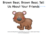 Brown Bear Describing Book