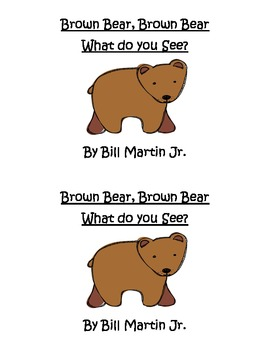 Brown Bear Easy/Emergent Reader