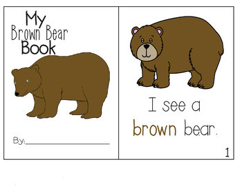 Brown Bear Emergent Reader