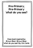 Brown Bear - Eric Carle inspired class book - Pre Primary