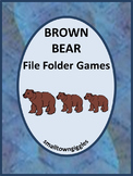Brown Bear Brown Bear Activities, Autism File Folder Games for Special Education