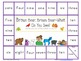 Brown Bear Game board Set--0-10, 11-20, number words and c