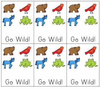 Brown Bear Go Wild!