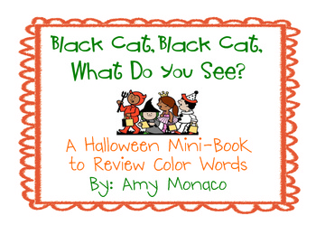 Brown Bear Halloween Version (Black Cat Black Cat, What Do You See?)