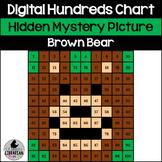 Brown Bear Hundreds Chart Hidden Picture Activity for Winter Math Bear Snores