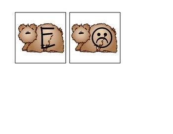Brown Bear Letter Roll