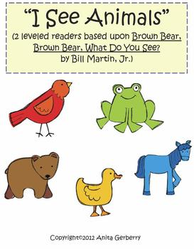 Brown Bear Leveled Readers