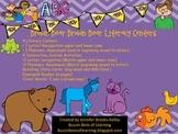 Brown Bear Literacy Centers,Interactive Journal, & Emergen