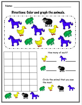 Brown Bear Literacy and Math Activities & Centers