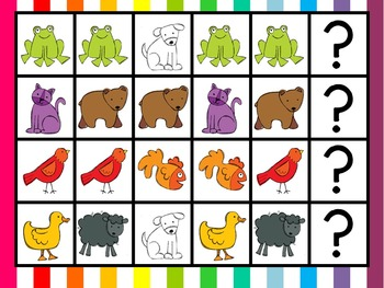 Brown Bear MEGA Math Pack ~ Number Recognition, Counting, Patterns