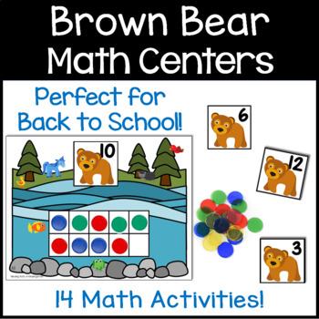 Brown Bear Math Pack