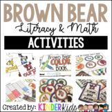 Brown Bear Math and Literacy Activities