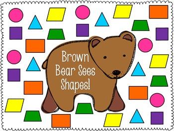 Brown Bear Math and Literacy for Back to School