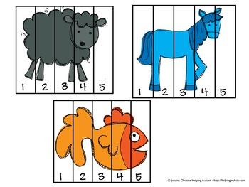 Brown Bear Mini ABA/Autism Unit 1