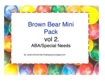 Brown Bear Mini Unit Vol 2 Aba/Autism