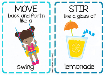 Summer Movement Cards (Transition Activity or Brain Breaks)