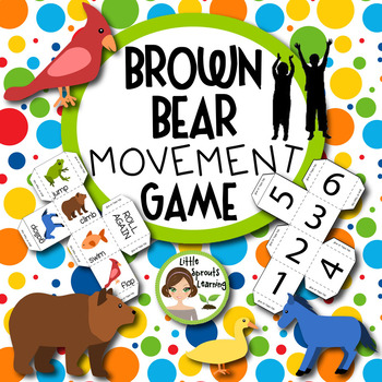 Brown Bear Movement Game (great for Back to School)