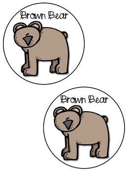 Brown Bear Movement & Graphing Activity!