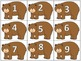 Brown Bear Numbers and Letters Sort Daily Five Word Work o