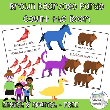 Brown Bear/Oso Pardo Count the Room