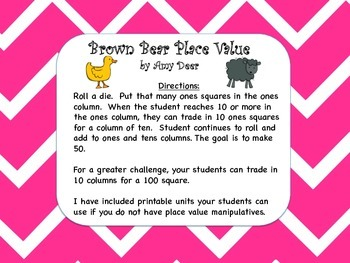 Brown Bear Place Value