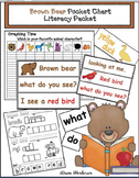Brown Bear Pocket Chart Literacy Packet