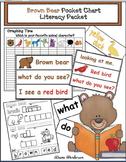 Brown Bear Pocket Chart Literacy Packet