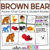Brown Bear Pocket Chart Retelling Activity and Mini Reader