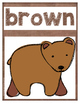 Brown Bear Posters, Crowns, and Sight Word Readers! Editable booklets!