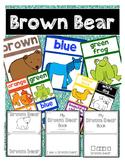 Brown Bear Posters and Emergent Reader Booklets! English a