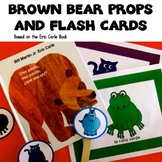 Brown Bear Props for Storytelling