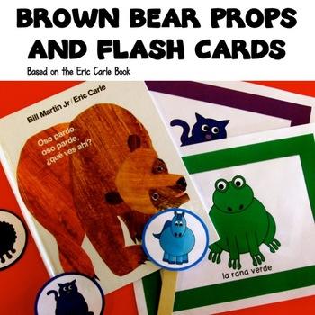 Brown Bear Props for Storytelling