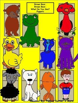 Brown Bear Puppets