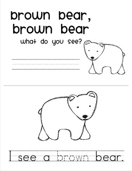 Brown Bear Reader