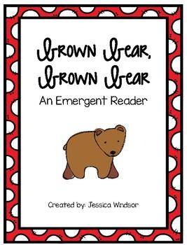 Brown Bear Reader - Freebie