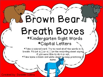 Brown Bear SW fluency activity