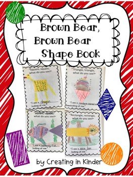 Brown Bear Shape Book