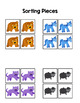 Brown Bear Sort by Picture File Folder Game for students w